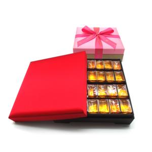 謐喜-宮樣絲盒-蜂蜜燕窩黃金糖28入