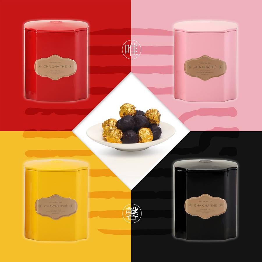唯馨-黑芝麻巧克力8入